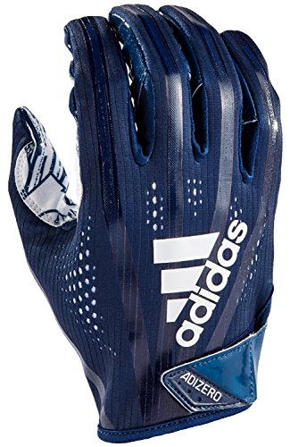 adidas AF1000 Adizero 7.0 Receiver's Gloves, Navy, Large