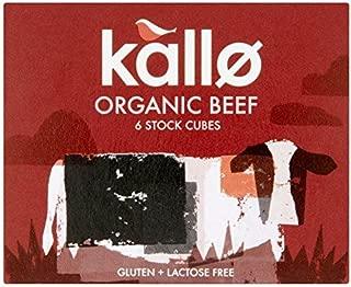 Kallo Organic Beef Stock Cubes - 6 x 11g
