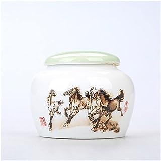 Coiffe de thé céramique céramique emballage boîte coiffe de thé en porcelaine citerne en porcelaine poterie porcelaine Cad...