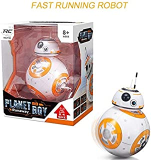 Cloth World Model Star S Rc Robot Remote Control Bb8 Action Figure Monster Movie Bb 8 Ball Toy Intelligent Kid Birthday Gift Must-Have 4 Year Old Boy Gifts The Favourite Anime Superhero Stickers