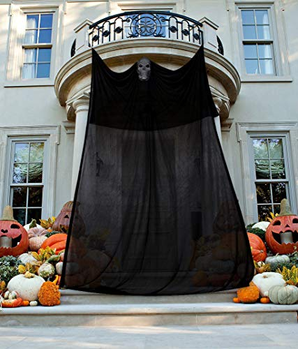 Moon Boat 13.94ft Halloween Ghost Hanging Decorations Scary Creepy Indoor/Outdoor Decor