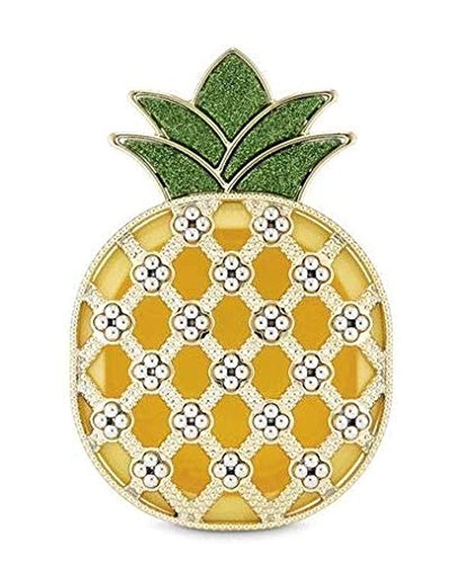 宇宙めまいマークダウン【Bath&Body Works/バス&ボディワークス】 クリップ式芳香剤 セントポータブル ホルダー (本体ケースのみ) シャイニーパイナップル Scentportable Holder Shiny Pineapple [並行輸入品]