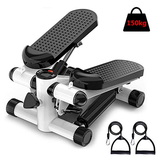Fantastic Prices! M-TOP Indoor Stair Stepper Fitness, Mini Stepper Air Stair Climber Exercise Fitnes...