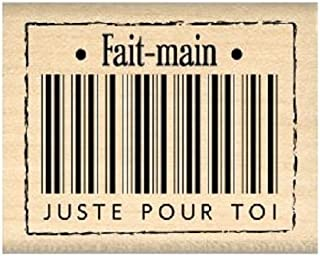 Florilèges Design FC210081 Tampon Scrapbooking Fait Main pour Toi, Beige