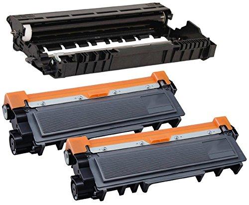 Printing Pleasure DR2300 Drum Unit & 2X TN2320 Toner Cartridges Compatible with Brother HL-L2300D HL-L2340DW HL-L2360DN HL-L2365DW DCP-L2520DW MFC-L2700DW MFC-L2720DW MFC-L2740DW - Black, High Yield -  Printing Pleasure no Brother original, a_brotherDR2320-1BK+TN2320-2BK