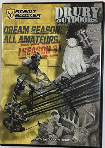 Drury Outdoors Best of Dream Season: All Amateurs Season 3 Hunting DVD