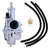 New Carburetor For Kawasaki Bayou 250 KLF250A klf250 With Inline Fuel Filter 2003-2011