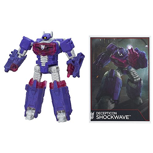 Transformers Generations Combiner Wars Legends Class Shockwave Figure by Transformers