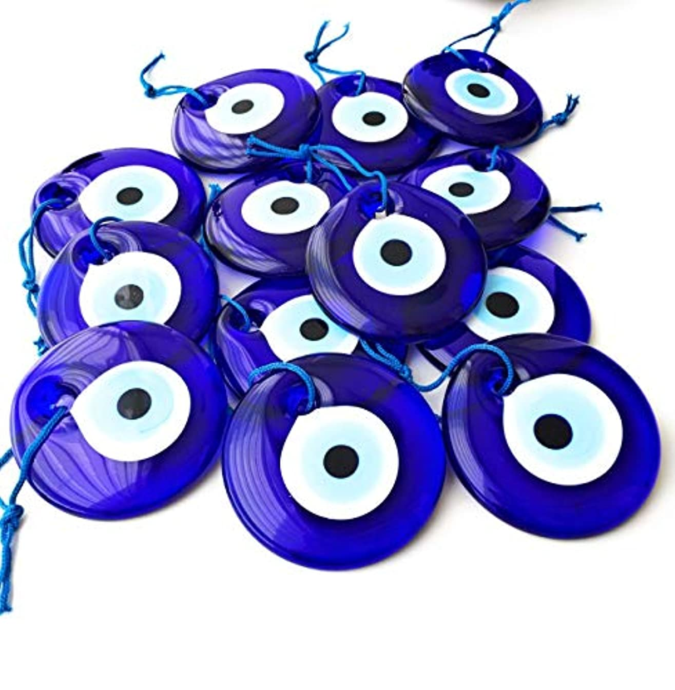 Bion, Evil Eye Beads, Talisman Charm (Blue Large - 2.75