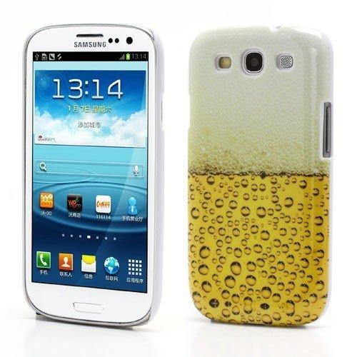 Unbekannt Hard Case/Cover Samsung Galaxy S3 / GT-I9300 Galaxy S3 LTE/GT-I9305 Bière Verre de Protection Couverture arrière de Cas de Shell Rétro