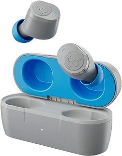 SKULLCANDY Jib True Auriculares inalámbricos, Gris Claro/Azul (S2JTW-P751)