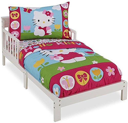 Hello Kitty 4-piece Toddler Bedding Set by Sanrio