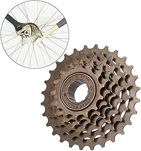 YOOBB Bicicleta De Montaña 5 6 7 8 Velocidad Spinning Flywheel Plegable Bicicleta De Carretera Roscada De Rosca Engranaje Torre De Rueda Bicicleta Freewheel Bicicleta Freewheel Cassette Sprocket