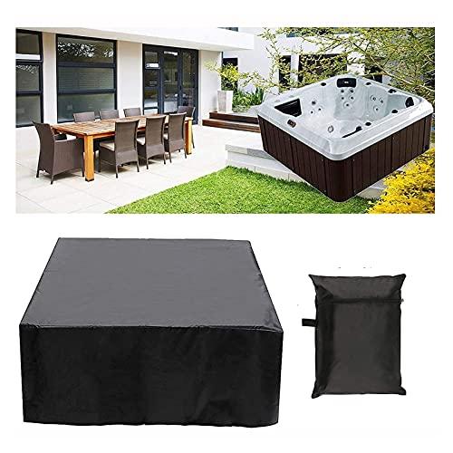 FJJSW Copertura Vasca idromassaggio 100% Acqua UV Resistente all'aperto UV Plaza Outdoor Plaza Bagno idromassaggio Jacuzzi Spa, Multiple Taglie Disponibili (Size : 231 * 231 * 90cm)