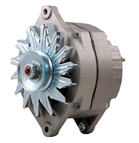 Rareelectrical NEW OE STYLE ISOLATED GROUND MILITARY VEHICLE CUCV 12 VOLT 100 AMP ALTERNATOR COMPATIBLE WITH