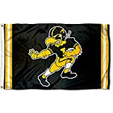 College Flags & Banners Co. Iowa Hawkeyes Vintage Retro Throwback 3x5 Banner Flag