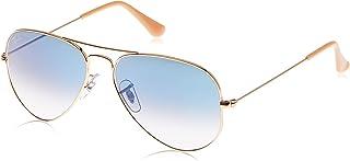 راي بان نظارة شمسية للجنسين للكبار Rb3025 كلاسيك عاكسة