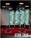 INTIMO Star Trek Beam Me Up Scotty Transporter Room Silk Touch Fleece Plush Throw Blanket
