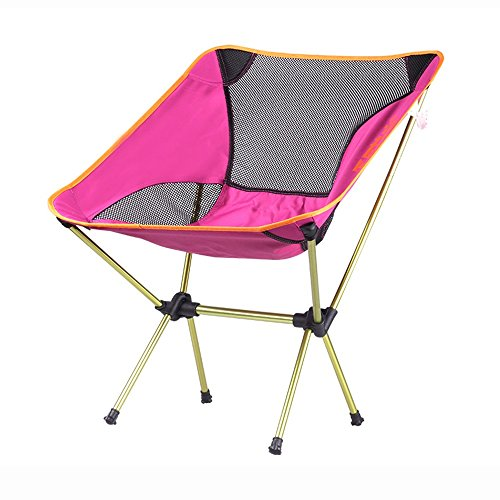 HPLL Liegestuhl Campingstuhl Netto-Garn-Breathable einfacher Klappstuhl/tragbarer Rückenlehnen-Stuhl im Freien/Leichter bequemer Fischen-Stuhl- / Strand-Reise-Freizeit-Stuhl Klappbar Liegestuhl