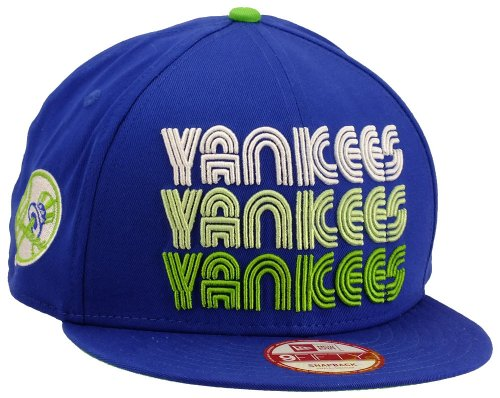 New Era New York Yankees Snapback Tri Frontal Royal / Limegreen / White - S-M