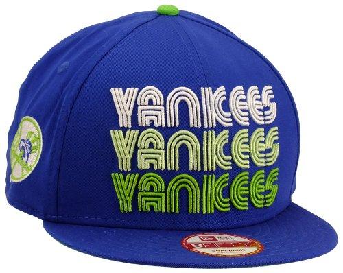 New era New York Yankees Snapback Tri Frontal Royal/Limegreen/White - S-M