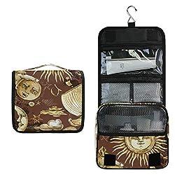 Ofertas Tienda de maquillaje: Calidad prémium: con un diseño único de patrón, esta bolsa de cosméticos es elegante y totalmente diferente con los demás. Tejido suave y acolchado, cremalleras fiables y velcro, cada detalle está delicadamente elaborado, lo que le da una experiencia...