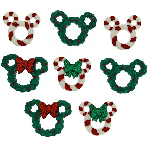 Dress It Up 8237 Disney Button & Embellishments, Wreaths & Canes