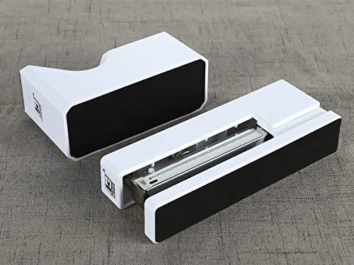 Stapler with 1000 Staples-Plier Stapler Save 60% Power,Good for Stapling at Home School or Warehouse (White Stapler Suit) Photo #5