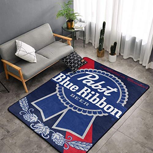 Pabst Blue Ribbon Beer Modern Simple Decorative Carpet Lazy Leisure Blanket