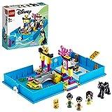 LEGO DisneyPrincess IlLibrodelleFiabediMulan, Playsetcon la Figura di Khan il Cavallo, Giocattolo in Valigetta da Viaggio, 43174