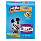 Pull-Ups Learning Designs for Boys, Potty Training Pants, 12-24 Months (14-26 lb.), 27 Ct. (Packaging May Vary)