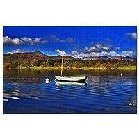 イギリスイギリスウィンダミア湖ジグソーパズル1000ピースゲームアートワーク旅行お土産木製