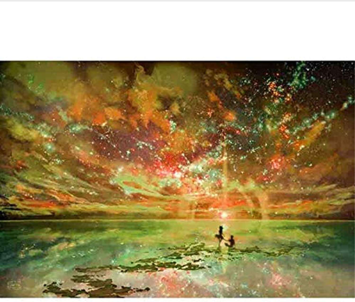 DIY Oil Painting Romantic People Pictures By Numbers On Canvas Wall Pictures Art For Living Room Home Decor, Framed, 50x60cm