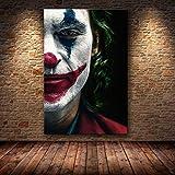 muyichen Joaquin Phoenix Poster Prints Joker Poster Movie 2019 DC Comic Art Lienzo...