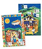 Christmas Advent Calendar Cards - 20 pack