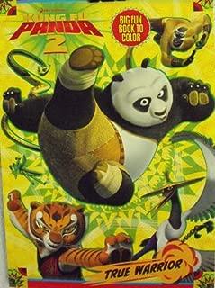 Kung Fu Panda 2 Coloring & Activity Book ~96 Pg True Warrior