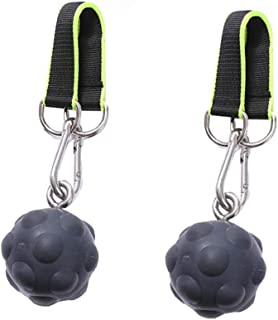 letsgood Climbing Pull Up Power Ball Hold Grips, Hand Grips Strength Trainer Exerciser for Bouldering, Pull-up, Kettlebell...