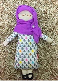 Muslim Doll Muslim Faceless Doll With Hijab Hijabi Doll Girl's Eid Gift