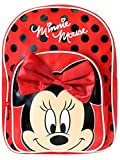 Disney Zaino di Minnie per Bambine Minnie Mouse Rosso