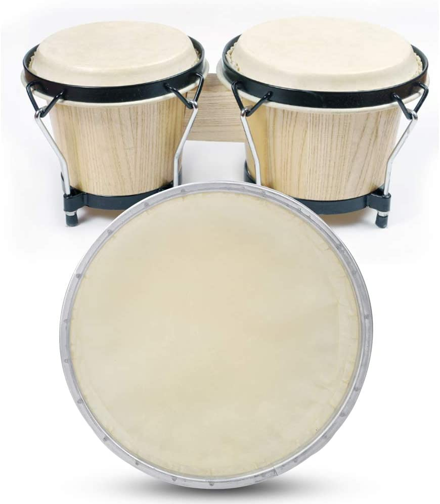 POCREATION Drum Online limited product Skin Manufacturer OFFicial shop Synthetic PU Toughn Replacement