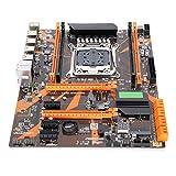 PUSOKEI Desktop PC Motherboard, DDR4 Motherboard for Intel x99, LGA2011-V3, DDR4 2133/2400/2800, 4‑Channel, PS/2, PCI-E X16 /USB 3.0/WiFi Interface, Support I7 E5 CPU