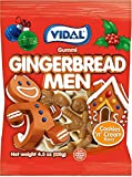Vidal Christmas Gingerbread Man Gummi Candy, 4.5 Ounce Bag