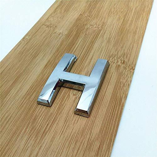 Zmaoyun-Números para casas 0123456789 Número de placa de plata moderno, número de puerta del hotel de la casa, DIGITOS DE LA DIGUSTIBLE Signo de la placa de la etiqueta engomada, Fácil instalación