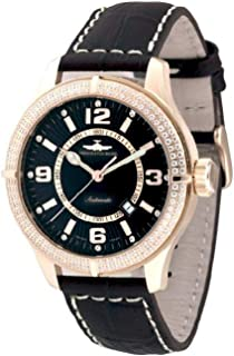 Zeno - Watch Reloj Mujer - OS Retro Automática Parisienne Gold Plated - 8854-Pgr-h1