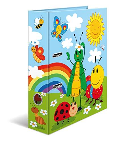 HERMA Registratore a leva con anelli Scuola dell'infanzia con motivo Frieda & Friends, A4, dorso 7 cm, cartonato, colori