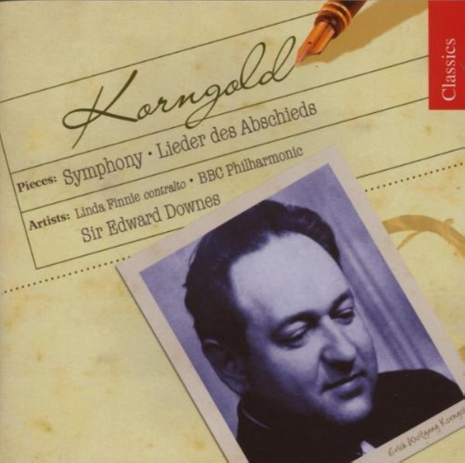 Korngold: Symphony; Lieder des Abschieds by Erich Wolfgang Korngold (2007-08-28)