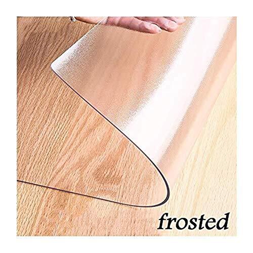 Qfeng Plastic Stoel Matten Voor Vloerbedekking Thuis Binnenlandse Kantoor Harde Oppervlakken Bescherming Geluid Absorberende Crack krasbestendig (Kleur : A, Maat : 80x80cm)