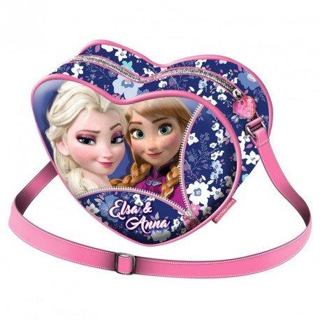 Frozen Zipper Messenger Bag, 20 cm, Pink (Rosa)