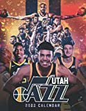 Utah Jazz 2022 Calendar: Fantastic 18-month Calendar 2022 from Jul 2021 to Dec 2022 with size 8.5x11 inch