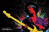 ASHER Gift LS-295 Poster, Motiv Jimi Hendrix, matt, 28 x 43